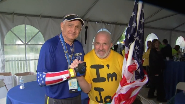 Longtime Runner Honored During His Final Broad Street Run}