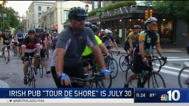 Cyclists Gearing Up for Tour De Shore