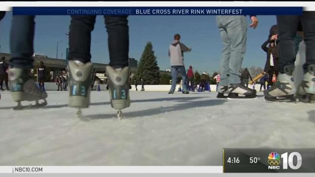Blue Cross River Rink Opens for Season