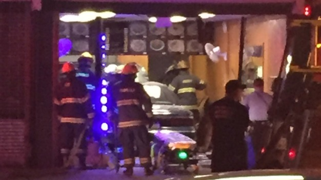Driver Crashes Into Chinese Restaurant