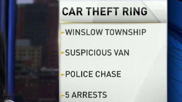 Car Theft Ring Busted in Camden County