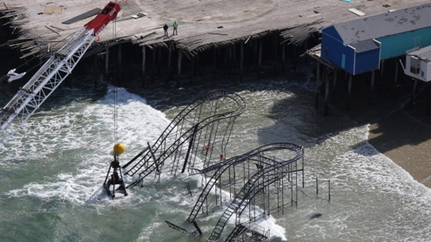 Owners to Rebuild Pier Damaged by Sandy