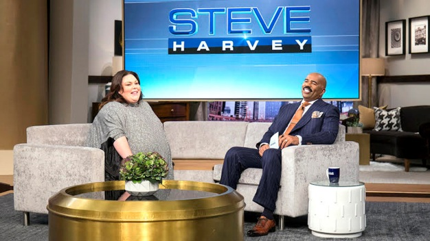 'This Is Us' Star Chrissy Metz Appears on 'Steve Harvey'
