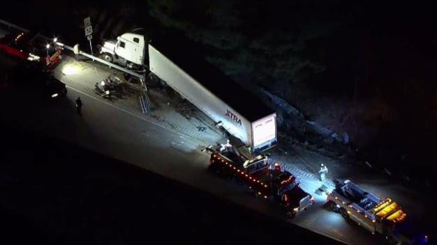 Turkey Truck Crashes, Closes Roadway