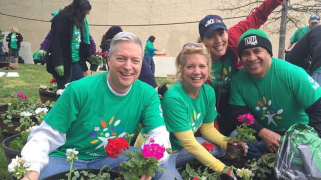 NBC10, T62 Give Back to the Community on Comcast Cares Day