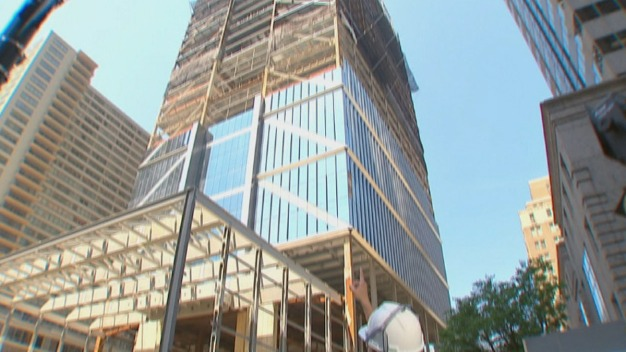 Business Leaders Learn More About New Comcast Tower