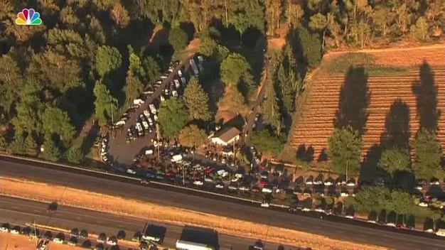 As Eclipse Approaches in Oregon, 1 Rest Stop Fills