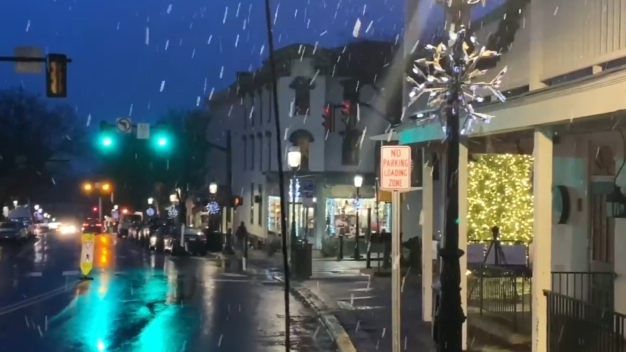 Storm Moves Out After Light Snow Falls on Parts of Area