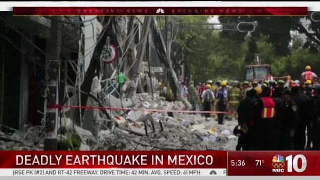 Scenes of Destruction as Deadly Earthquake Strikes Mexico