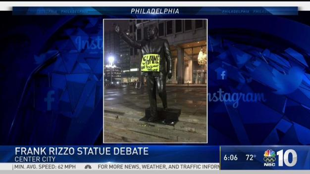 Debate Over if Frank Rizzo Statue Should Stay Standing