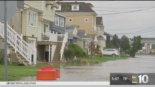 Jersey Shore Residents Deal With Hurricane Jose