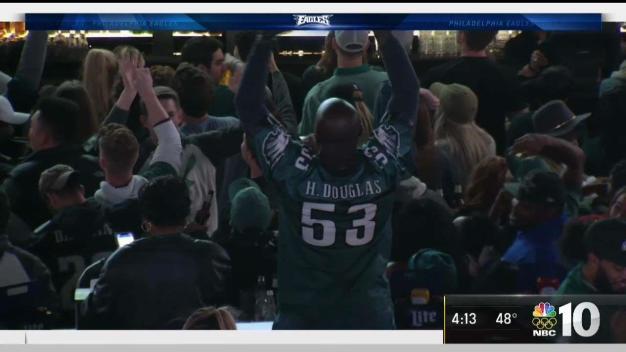 Eagles Fans Excited Over Winning Streak