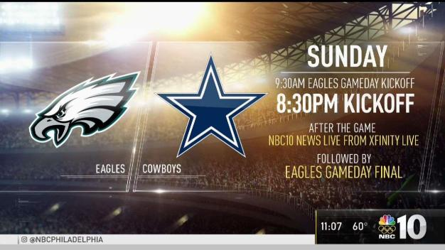 Eagles Fans Pumped for SNF Matchup Against Cowboys