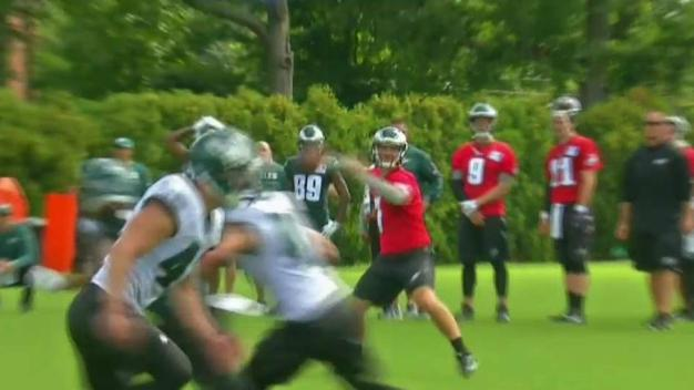 First Day of Eagles Training Camp