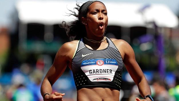 NJ's English Gardner Sprints Toward Redemption in Rio
