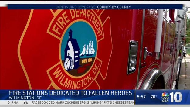 Fire Station Dedicated To Fallen Heroes