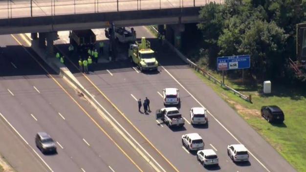 NBC10 First Alert Traffic: Crash Blocks Atlantic City Expressway