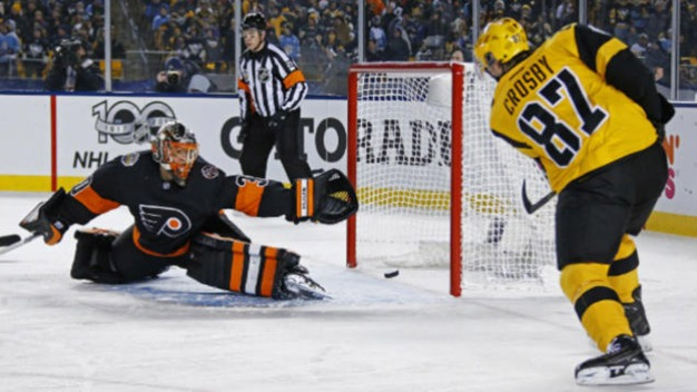Flyers Suffer Deflating Outdoor Loss to Penguins