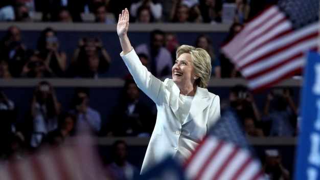 Clinton Accepts Nomination at 'Moment of Reckoning'