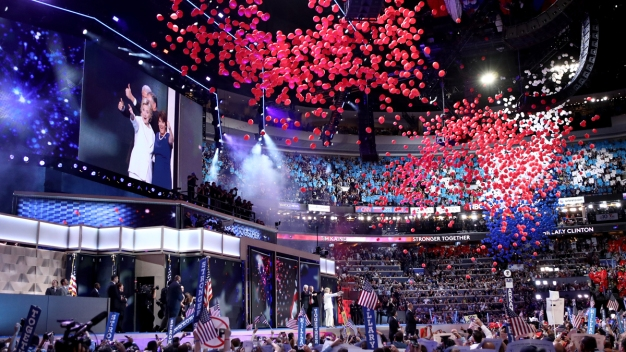 DNC Ends With Historic Speech from Hillary Clinton