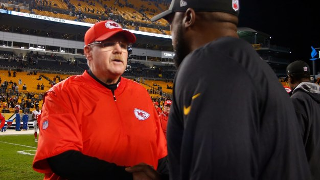 Steelers in Kansas City to Face Chiefs in AFC Divisional