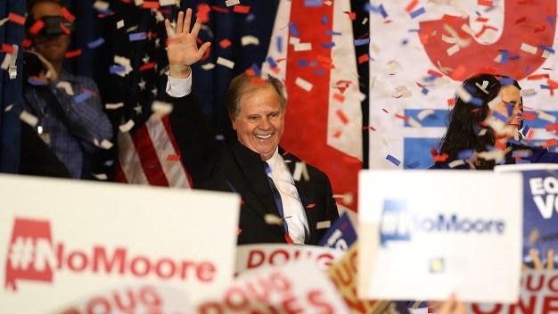 Senators React to Jones' Win in Alabama