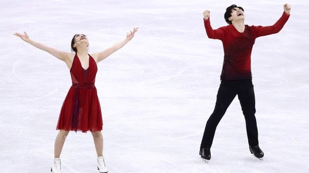 Feb. 20 Olympics Photos: Shibutani Siblings Win Bronze}