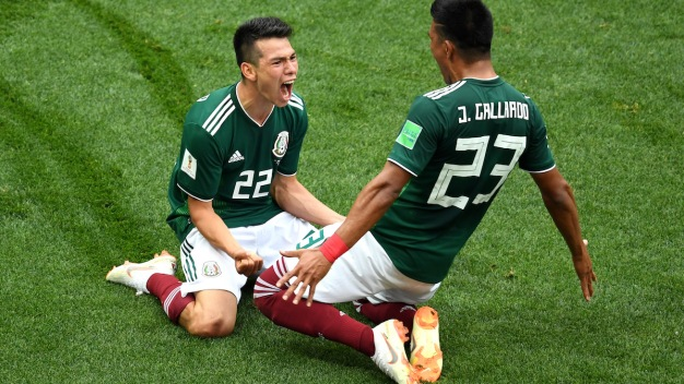 World Cup: Mexico Shocks Germany, Switzerland Ties Brazil