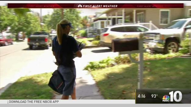 Heat Poses Challenge for Mail Carriers