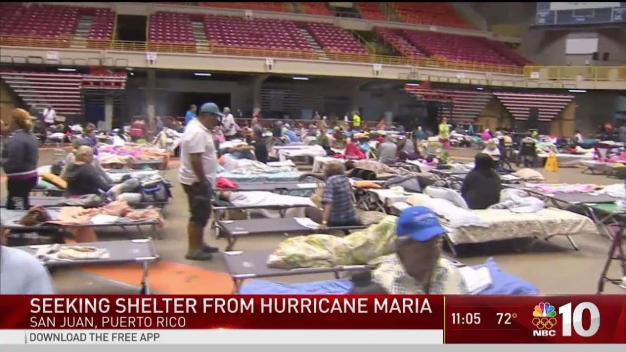 Hurricane Maria Gaining Strength