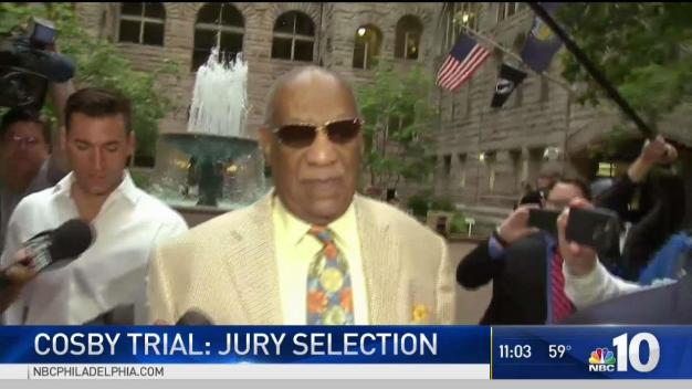 Jury Begins In Cosby Trial