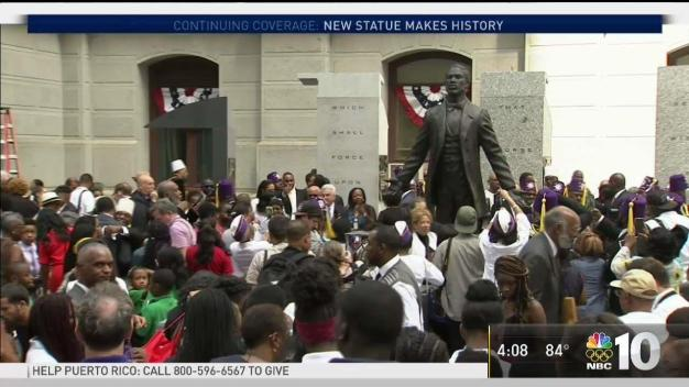 Philly Leaders Unveil Octavius Catto Statue