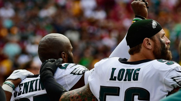 Eagles Players React to NFL's National Anthem Policy