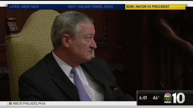 Mayor Kenney Attacks Trump Over Immigration Issues