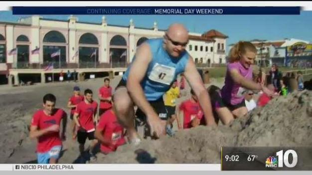 Memorial Beach Run Lets Competitors Feel Like Navy Seals