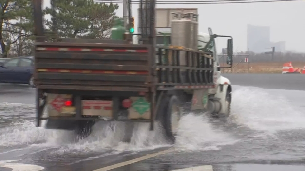 Flooding Returns to Jersey Shore