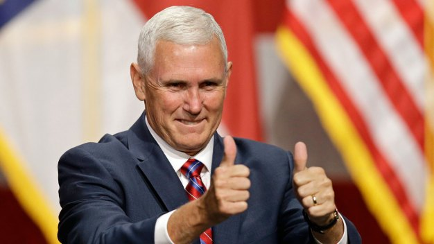 Republican VP Candidate Mike Pence Holds Pa. Rally