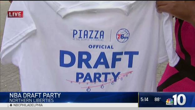 NBA Draft Party Kicks Off in Northern Liberties
