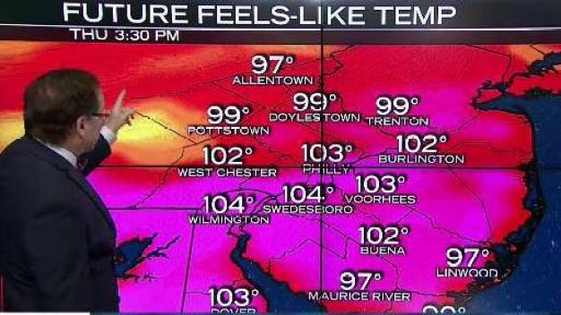 NBC10 First Alert Weather: Dangerous Heat