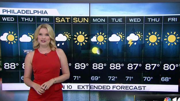 NBC10 First Alert Weather: Hot, Steamy