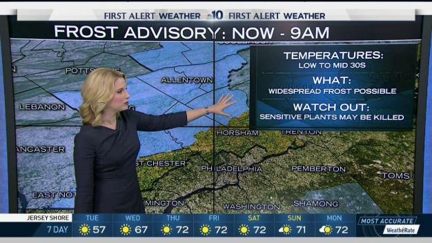 NBC10 First Alert Weather: Clear Forecast