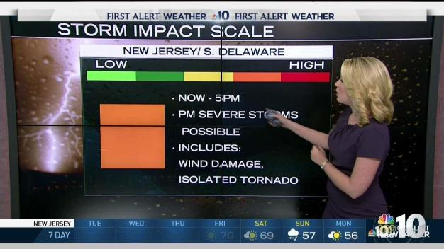 NBC10 First Alert Weather: Tracking Storms