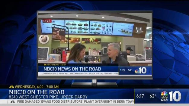 NBC10 On the Road Again at a Wawa Near You