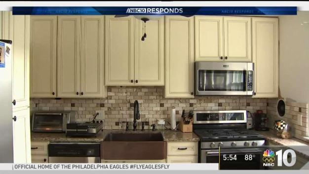 NBC10 Responds: Kitchen Problems Leave Woman Unhinged
