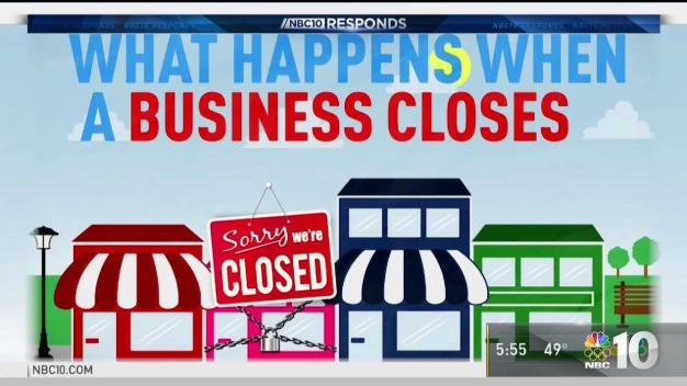 NBC10 Responds: What Happens When a Business Closes?