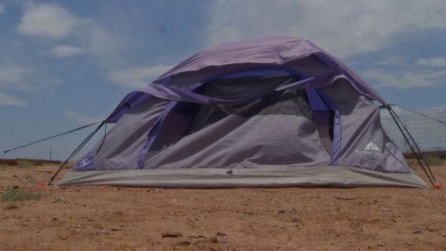 Parents Punish Teen by Making Him Live in Tent