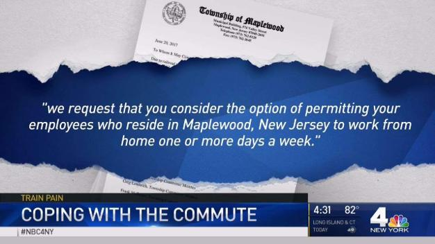 NJ Town Urges Telecommute During Summer Train Pain