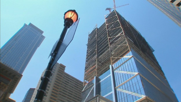Comcast Tower Rises