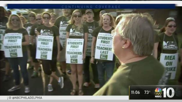 No Classes Tuesday as Methacton Teacher Strike Continues