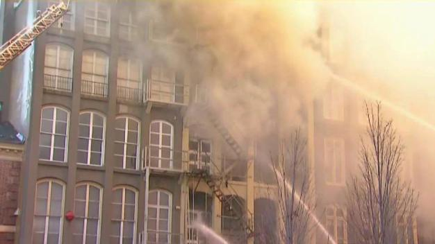 Old City Building 'Imminently Dangerous' After Massive Fire